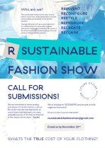 R Sustainable Fashion Show