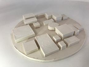 1:500 scale model of SANAA's 21st Century Museum of Modern Art