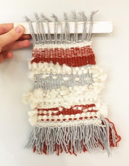 Weaving experiment #1
